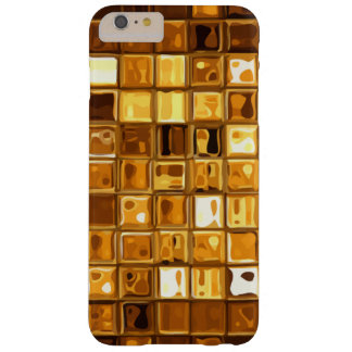 Gold Colored Abstract Style Barely There iPhone 6 Plus Case