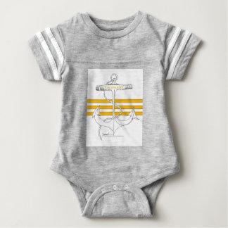 gold commander, tony fernandes baby bodysuit