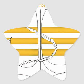 gold commander, tony fernandes star sticker