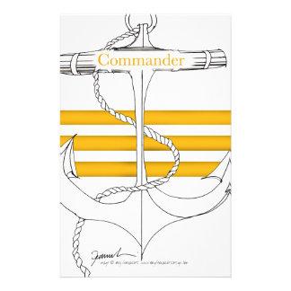 gold commander, tony fernandes stationery