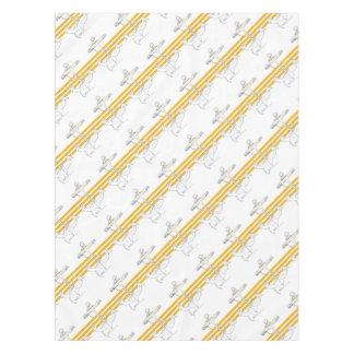 gold commander, tony fernandes tablecloth
