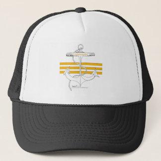 gold commander, tony fernandes trucker hat