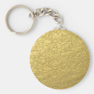 Gold Concrete Keychains