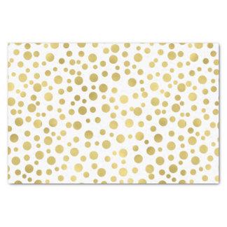 Gold Confetti Dots Tissue Paper