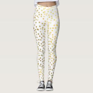 Gold Confetti Fashion leggings