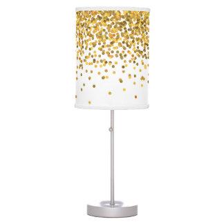Gold Confetti Table Lamp