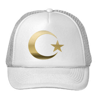 GOLD CRESCENT 3D TRUCKER HAT
