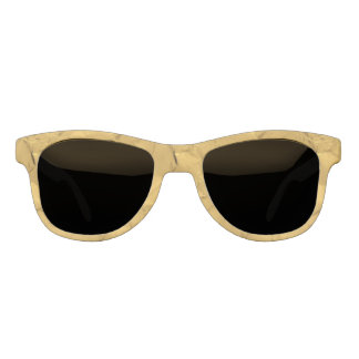 Gold Crinkle Sunglasses