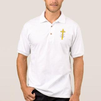 Gold Cross Christian Shirt