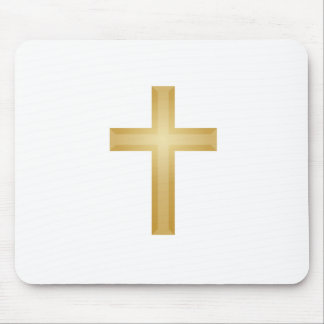Gold Cross/Easter Mouse Pad
