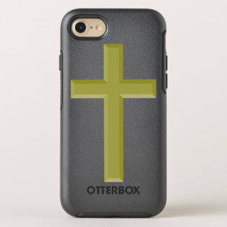 Gold Cross OtterBox Symmetry iPhone 7 Case