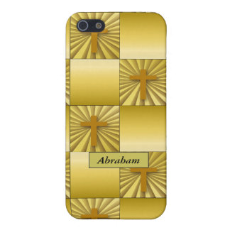 Gold Cross Speck Case iPhone 5 Cases