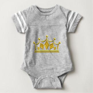 Gold Crown Baby Bodysuit