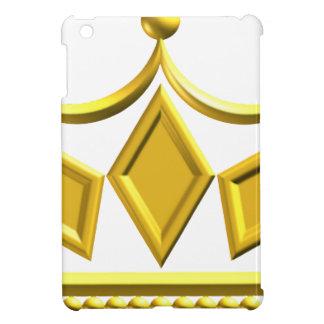 Gold Crown iPad Mini Cover
