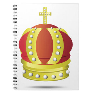 gold crown notebook