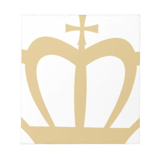 Gold Crown Notepad