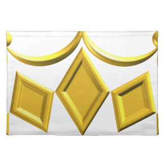Gold Crown Placemat