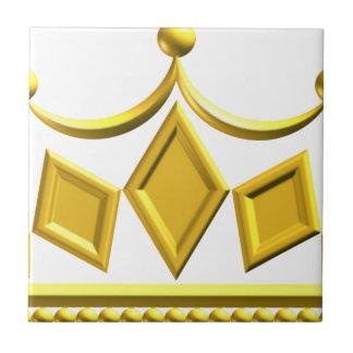 Gold Crown Tile
