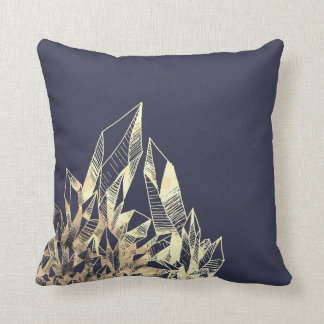 Gold Crystal Pillow