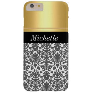 Gold Damask Iphone 6 Plus Barely There iPhone 6 Plus Case