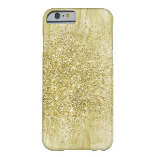 Gold Dazzle Sparkle Barely There iPhone 6 Case