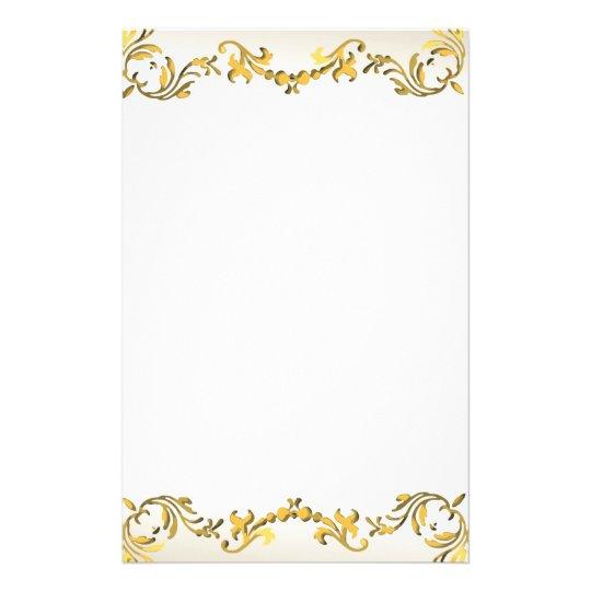 gold decorative scroll border flyer zazzle ca 50th wedding anniversary clipart images 50th wedding anniversary clip art free