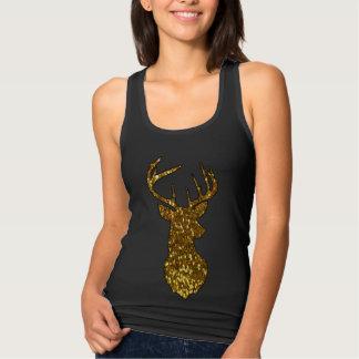 Gold Deer Tank Top