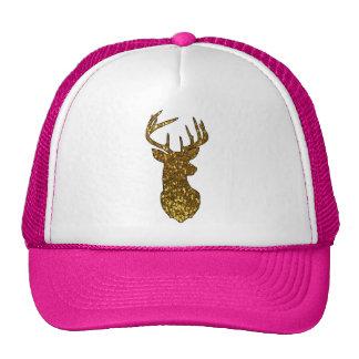 Gold Deer Trucker Hat