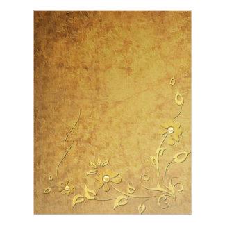 Gold Detail Letterhead