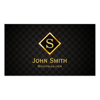 Gold Diamond Bodybuilding Business Card
