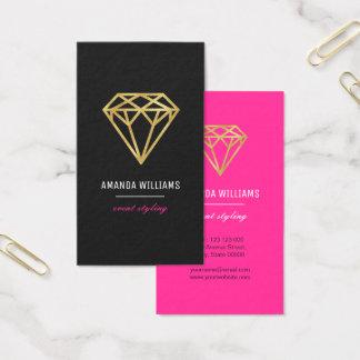 Gold Diamond Business Card