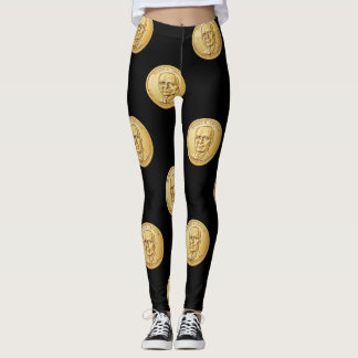 Gold Dollar Leggings