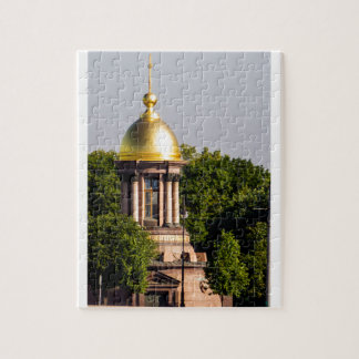 Gold Dome St Peterburg Russia Jigsaw Puzzle