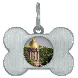 Gold Dome St Peterburg Russia Pet ID Tags