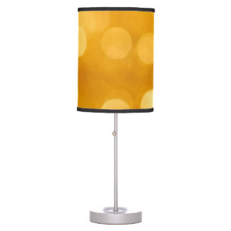 Gold Dots Table Lamp
