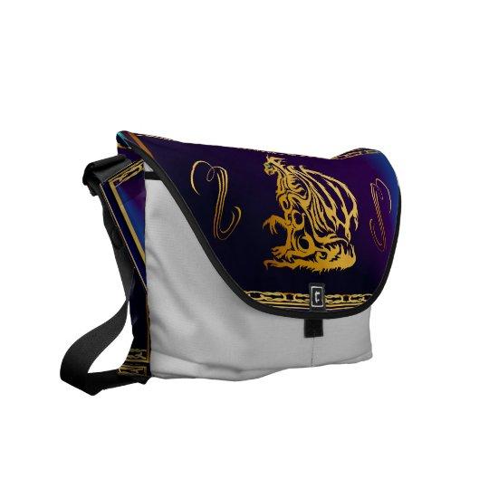 Gold Dragon 1 Rickshaw Messengerr Bag Commuter Bags