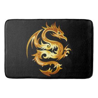 Gold Dragon Bath Mat