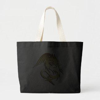 GOLD DRAGON CANVAS BAGS