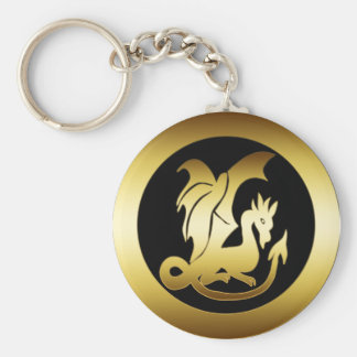 GOLD DRAGON KEY CHAINS