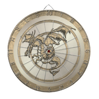 Gold  Dragon Regulation Dartboard