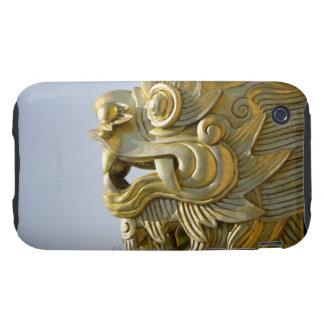 Gold Dragon Tough iPhone 3 Cases