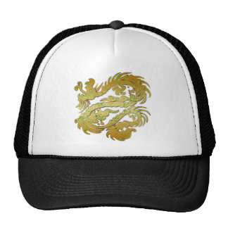 GOLD DRAGON TRUCKER HATS