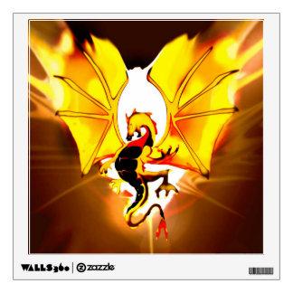 Gold Dragon Wall Sticker