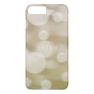 Gold Dreamy Bokeh Ombre iPhone 7 Plus Case