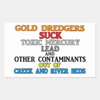 Gold Dredgers Sticker