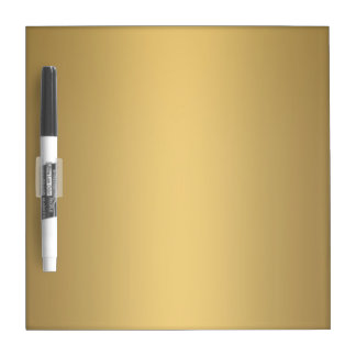 GOLD DRY ERASE BOARD