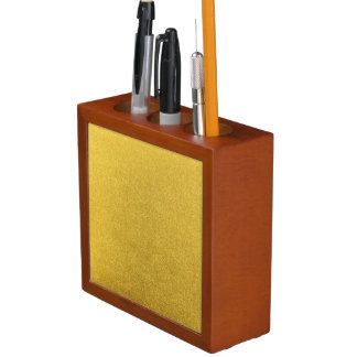GOLD DUST (a precious metal color) ~ Pencil/Pen Holder