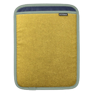GOLD DUST (a precious metal color) ~ Sleeve For iPads