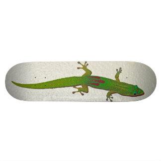 Gold Dust Gecko Custom Skateboard