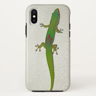 Gold Dust Gecko iPhone X Case